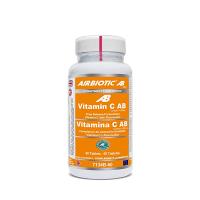 Vitamina C AB Complex 1000mg envase de 60 cápsulas del fabricante Airbiotic AB