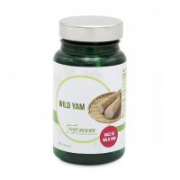 Wild Yam envase de 60 cápsulas del fabricante NaturLíder (Antiestrogenicos)