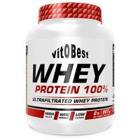 Whey Protein 100% de 908 g del fabricante VitoBest (Proteina de Suero Whey)