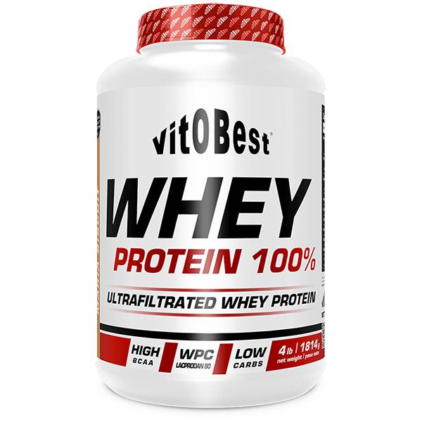 Whey Protein 100% de 1.8 kg del fabricante VitoBest (Proteina de Suero Whey)