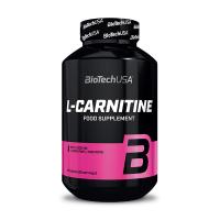 L-Carnitina 1000mg envase de 60 tabletas de la marca Biotech USA