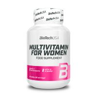 Multivitamin for Women de 60 tabletas de Biotech USA (Complejos Multivitaminicos)