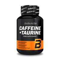 Cafeina y Taurina envase de 60 cápsulas del fabricante Biotech USA (Vitalidad y Energia)