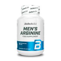 Mens Arginine envase de 90 tabletas de la marca Biotech USA (Arginina)