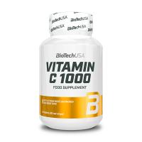 Vitamina C 1000 de 30 tabletas del fabricante Biotech USA