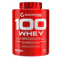 100% Whey envase de 2280g del fabricante Galvanize Nutrition (Proteina de Suero Whey)