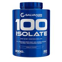 100% Isolate de 2000g de Galvanize Nutrition (Proteína de Aislado de Suero Isolate)