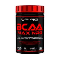 BCAA Max NRG de 240g de Galvanize Nutrition (Pre Entrenamiento sin Estimulantes)