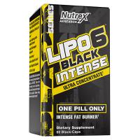 Lipo 6 Black Intense de 60 cápsulas de Nutrex (Termogénicos)