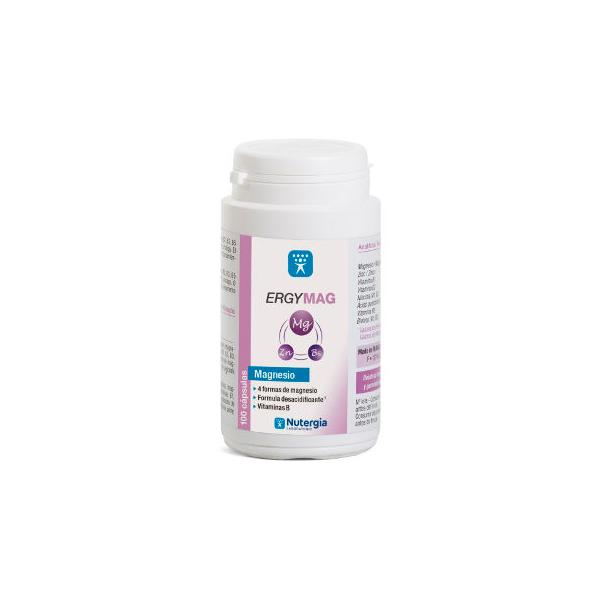 Ergymag de 100 cápsulas de Laboratorios Nutergia (Magnesio)