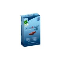 Aceite de Krill NKO 500mg envase de 40 cápsulas de la marca 100%Natural (Sistema Circulatorio)