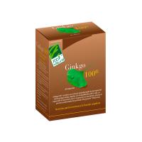 Ginkgo 100 envase de 60 cápsulas de 100%Natural (Concentración-Memoria)