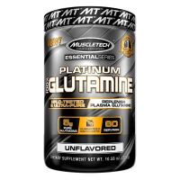 Platinum Glutamine envase de 300 g del fabricante Muscletech (Glutamina)