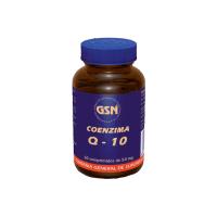Coenzima Q-10 envase de 60 tabletas de la marca GSN (Antioxidantes)