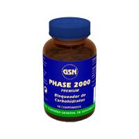 Phase 2000 de 90 tabletas de la marca GSN (Bloqueadores de Carbohidratos)