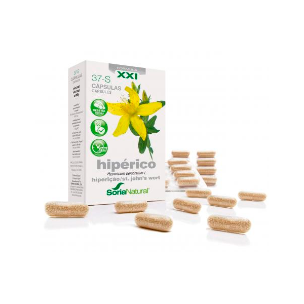 37-s hiperico - 30 capsules