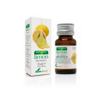 Aceite Esencial de Limón envase de 15ml de la marca Soria Natural (Aceites Esenciales)