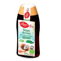 Sirope de Coco envase de 350g de la marca El Granero Integral (Salsas y Siropes Bio)