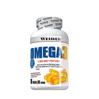 Omega 3 envase de 90 softgels de la marca Weider