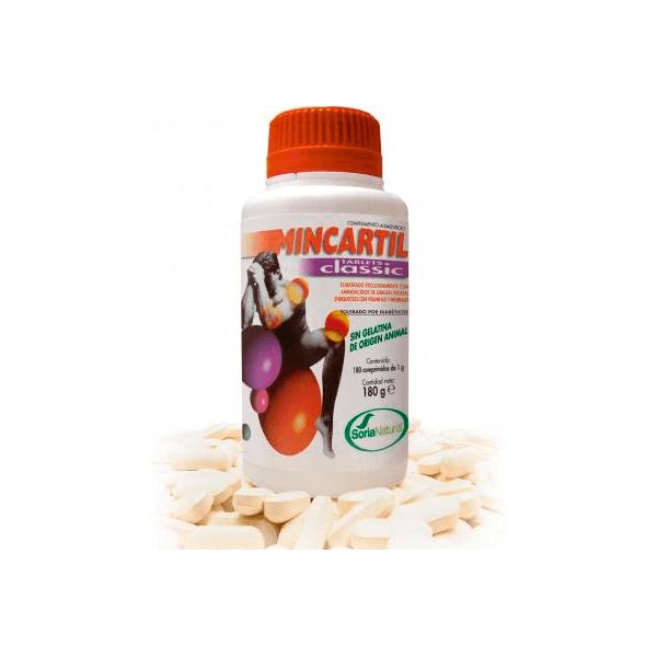 Mincartil Classic de 180 tabletas de Soria Natural (Cartílago)