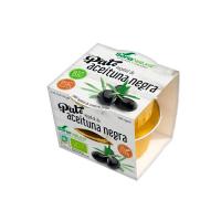 Paté Vegetal de Aceitunas Negras de 2 x 50g del fabricante Soria Natural (Aperitivos para picar)