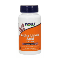 NOW Foods Alpha Lipoic Acid 250mg x 60 Cabeças (A. Alfa Lipoico)