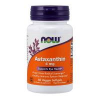 Astaxanthin 4mg de 60 veggie softgels de Now Foods (Mejora General)