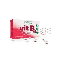 Vitamina B6 de 48 tabletas de la marca Soria Natural