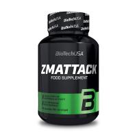 Zmattack envase de 60 cápsulas de Biotech USA (ZMA)