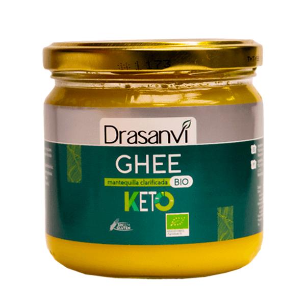 GHEE Mantequilla Clarificada Bio envase de 300g de la marca Drasanvi (Cremas de Untar)