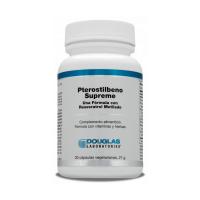 Pterostilbeno Supreme envase de 30 cápsulas de Douglas Laboratories (Vitaminas)