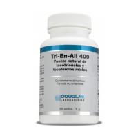 Tri-En-All 400 envase de 60 softgels de Douglas Laboratories (Vitaminas)
