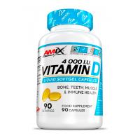Vitamina D 4000 IU envase de 90 cápsulas de Amix Performance