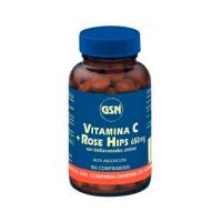 Vitamina C con Rose hips envase de 100 tabletas de GSN