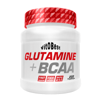 Glutamine + bcaa - 200 capsules