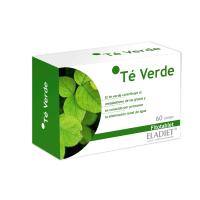 Té Verde envase de 60 tabletas del fabricante Eladiet (Diuréticos)