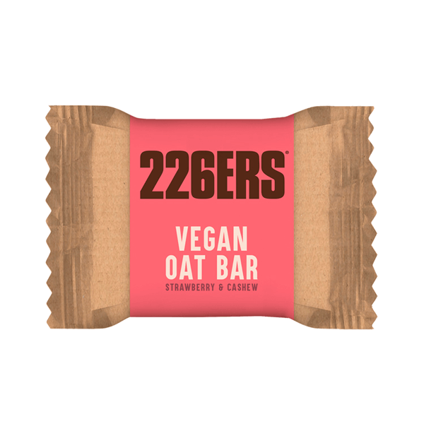 Barrita de Avena Vegana de 50g del fabricante 226ERS (Barritas de Carbohidratos)