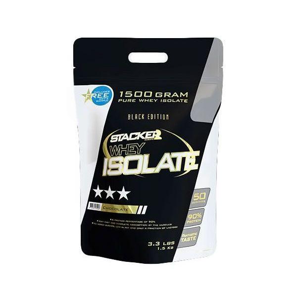 Whey Isolate de 1.5 kg de la marca Stacker Europe (Proteína de Aislado de Suero Isolate)