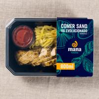 Zucchinis calabacin with chicken strips - Mana Foods