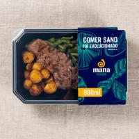 Marine ternera with asada potato guarnition - Mana Foods