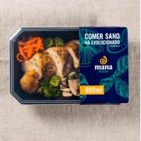 Teppanyaki chicken with vegetables - Mana Foods