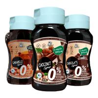 Sirope 0% de 350ml del fabricante GoFood (Salsas y Siropes Dulces sin Calorias)