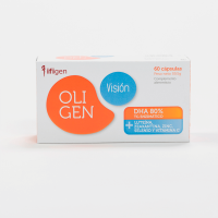 Oligen Vision DHA 80% - 60 cápsulas Ifigen - 1