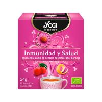 Inmunidad y Salud envase de 12 bolsitas de Yogi Organic (Infusiones y tisanas)