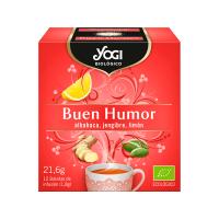 Buen Humor de 12 bolsitas de la marca Yogi Organic (Infusiones y tisanas)