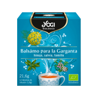 Balsam for the throat - 12 saquetas Yogi Organic - 1
