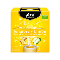 Jengibre y Limón de 12 bolsitas de la marca Yogi Organic (Infusiones y tisanas)