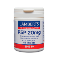 P5p 20mg - 60 tablets Lamberts - 1