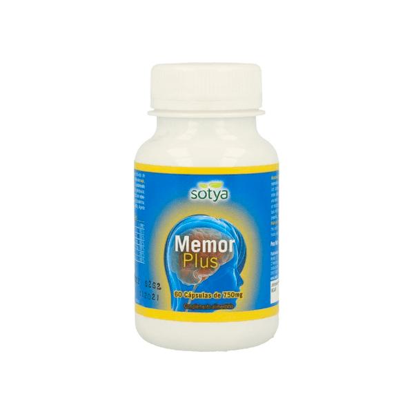Memor plus - 60 capsules Sotya Health Supplements - 1