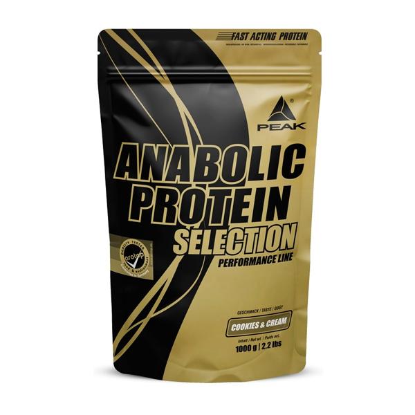 Anabolic protein selection - 1000g Peak - 1